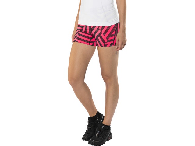 Salming Energy Shorts Women Coral/All Over Print
